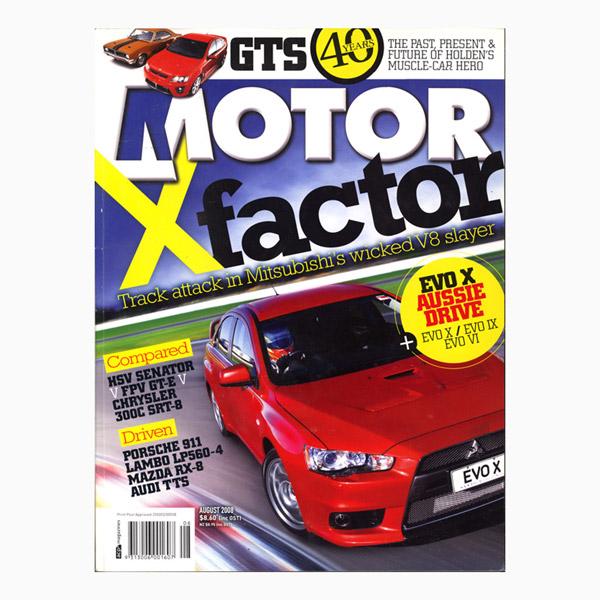 Motor 2008 August 0808 40 Years Of Gts Lancer Evo X Hsv V Fpv V